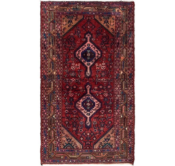 110cm x 193cm Hossainabad Persian Rug