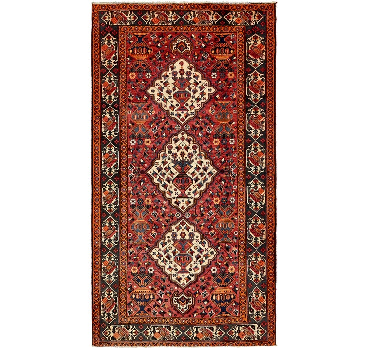 5' 3 x 9' 10 Shiraz Persian Rug