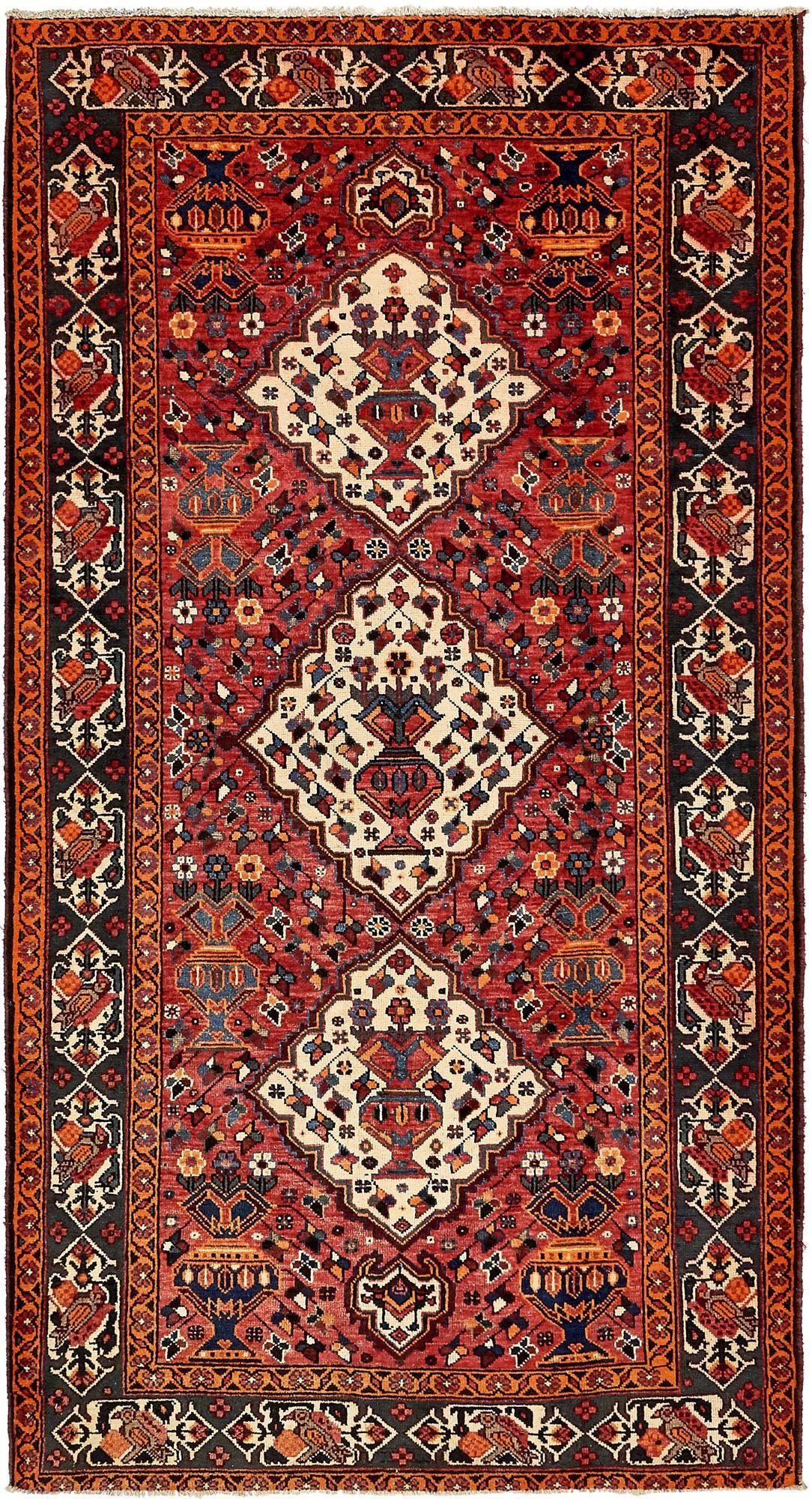 5' 3 x 9' 10 Shiraz Persian Rug main image