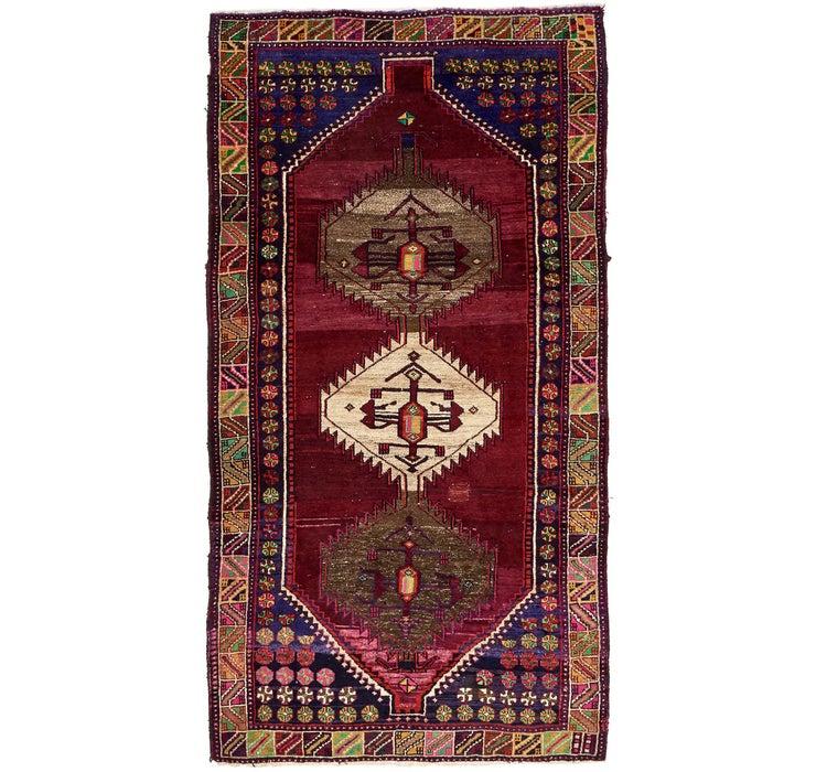 5' 1 x 9' 5 Shiraz-Lori Persian Rug