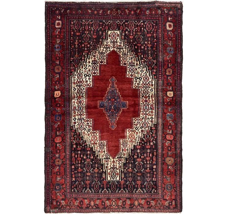 132cm x 198cm Sanandaj Persian Rug