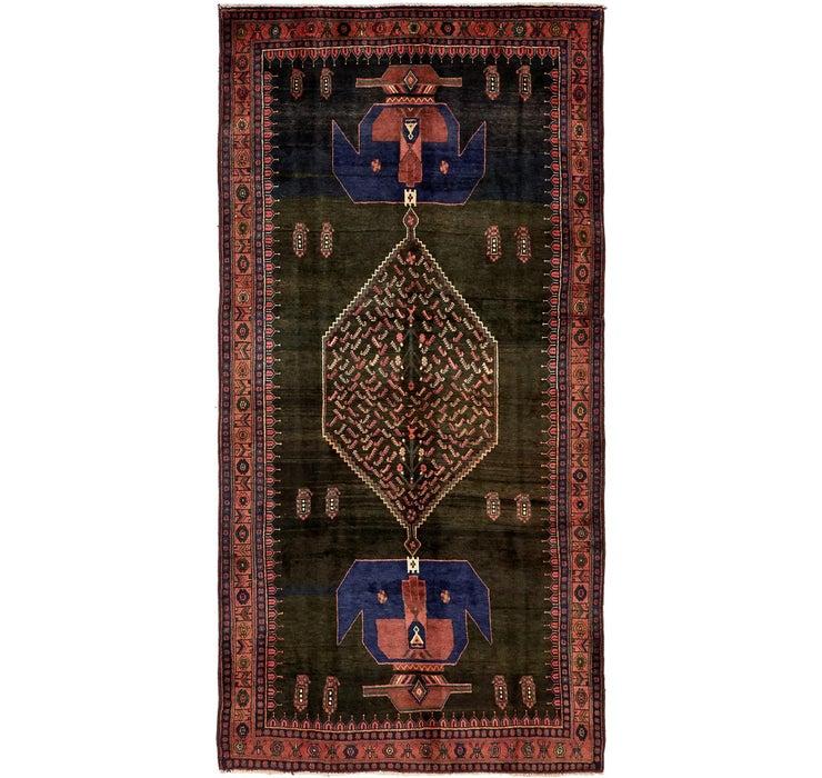 160cm x 320cm Sirjan Persian Runner Rug