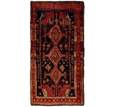 4' 5 x 9' Sirjan Persian Runner Rug main image