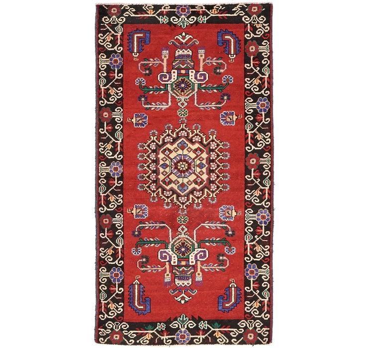 3' 9 x 7' 2 Ferdos Persian Rug