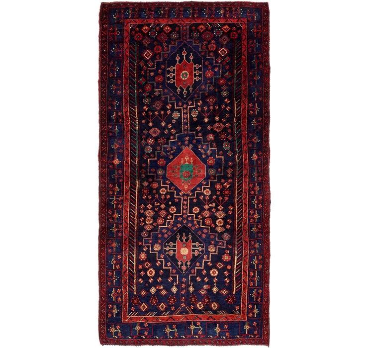 4' 10 x 10' Sirjan Persian Runner Rug