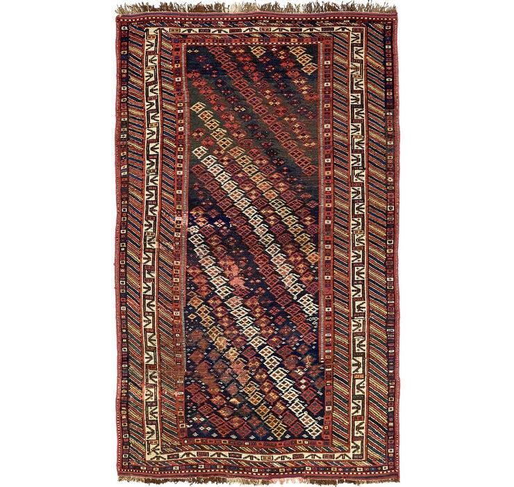4' 6 x 7' 7 Shiraz Persian Rug