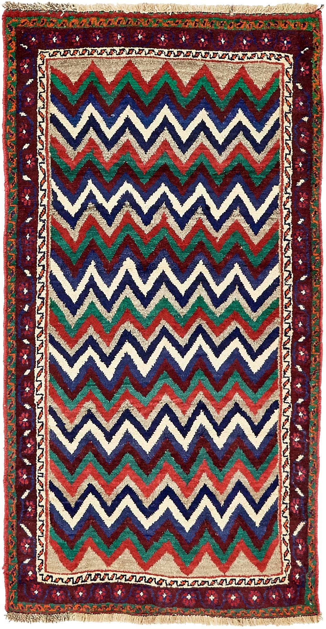 3' 6 x 6' 5 Shiraz-Gabbeh Persian Rug main image