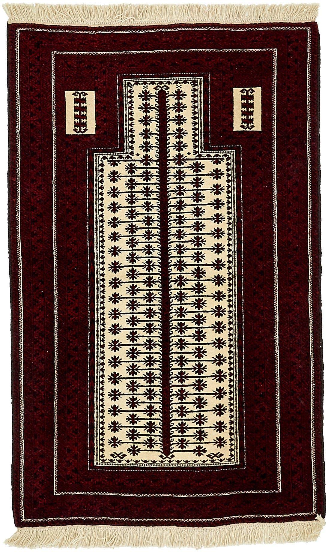 2' 11 x 4' 8 Balouch Persian Rug main image