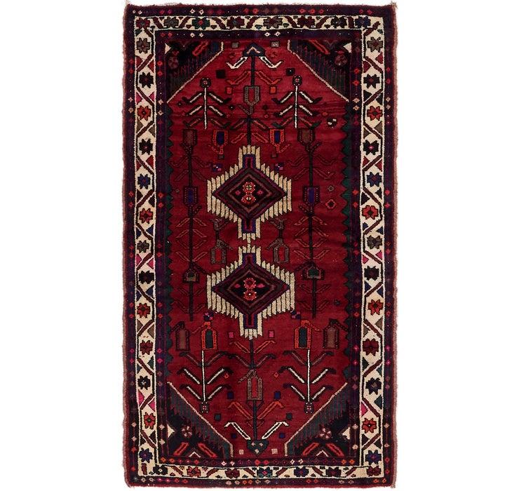 107cm x 193cm Khamseh Persian Rug