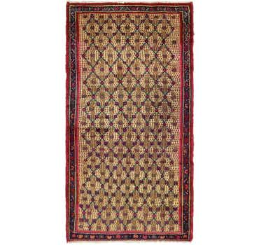 Image of 3' 6 x 6' 7 Koliaei Persian Rug