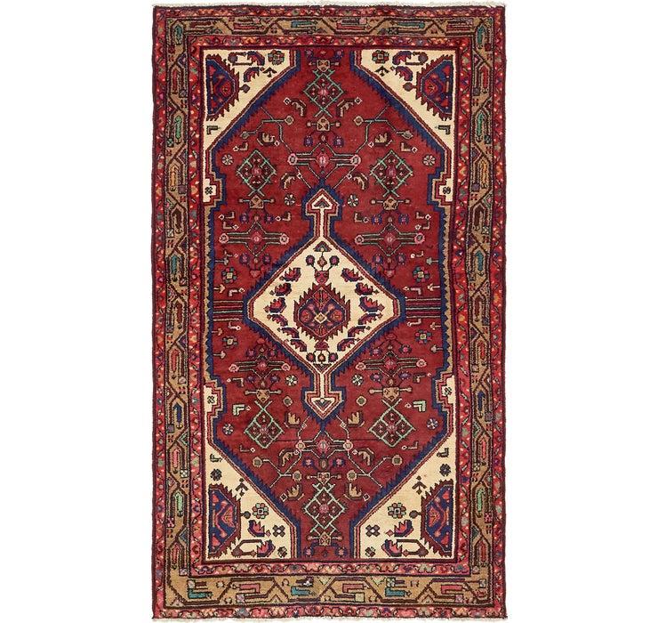 3' 8 x 6' 9 Hossainabad Persian Rug