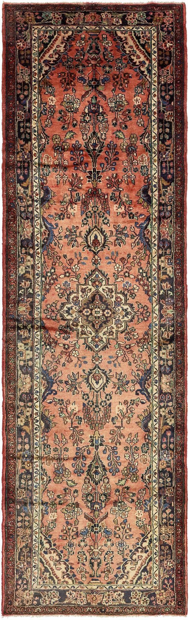 3' 9 x 13' 3 Khamseh Persian Runner Rug main image