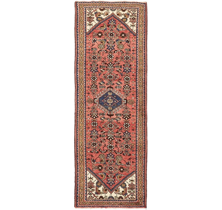 102cm x 292cm Hossainabad Persian Run...