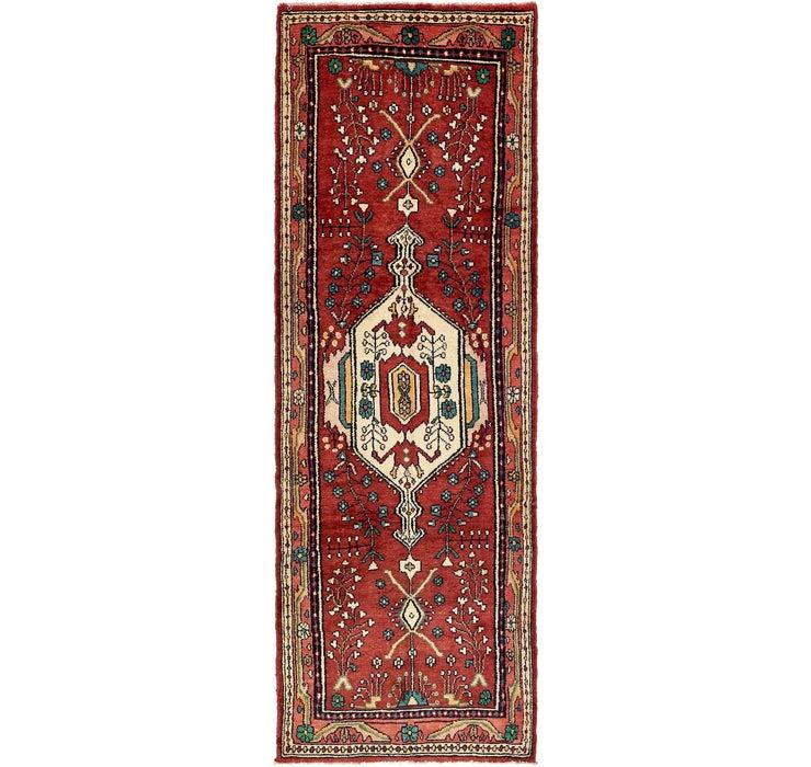 102cm x 300cm Hamedan Persian Runner ...
