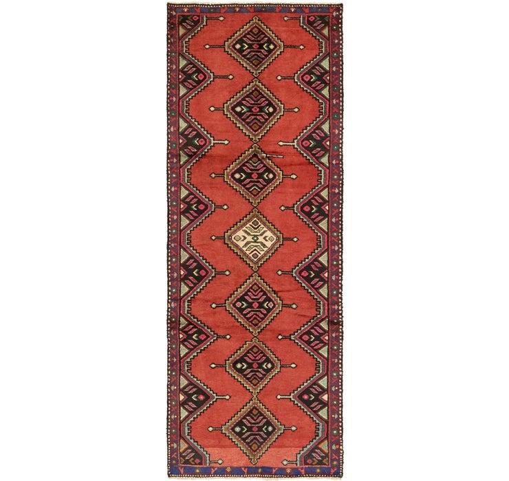 107cm x 305cm Chenar Persian Runner Rug