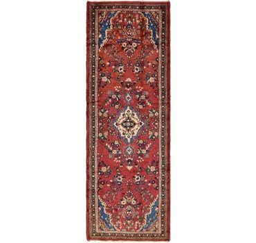 Image of 3' 8 x 11' Shahrbaft Persian Runne...