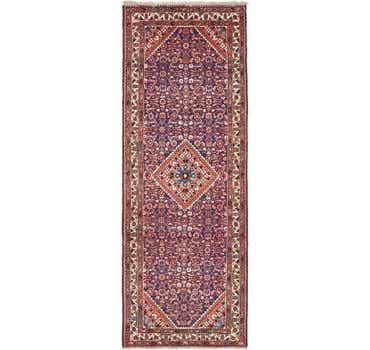 Image of 3' 5 x 9' 5 Hossainabad Persian Run...