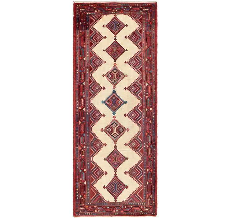 4' x 10' 6 Chenar Persian Runner Rug