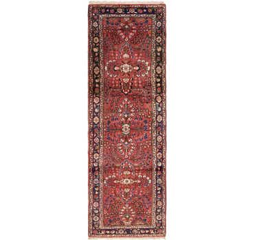 Image of 3' 5 x 10' 3 Liliyan Persian Runner ...