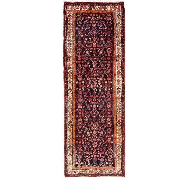 110cm x 312cm Hossainabad Persian Run...