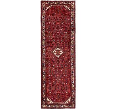 3' 2 x 9' 7 Hossainabad Persian Runner Rug main image