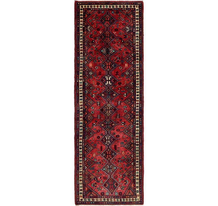 105cm x 318cm Chenar Persian Runner Rug