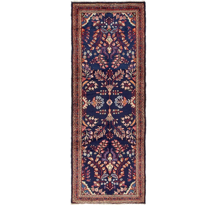 3' 9 x 10' 2 Hamedan Persian Runner ...