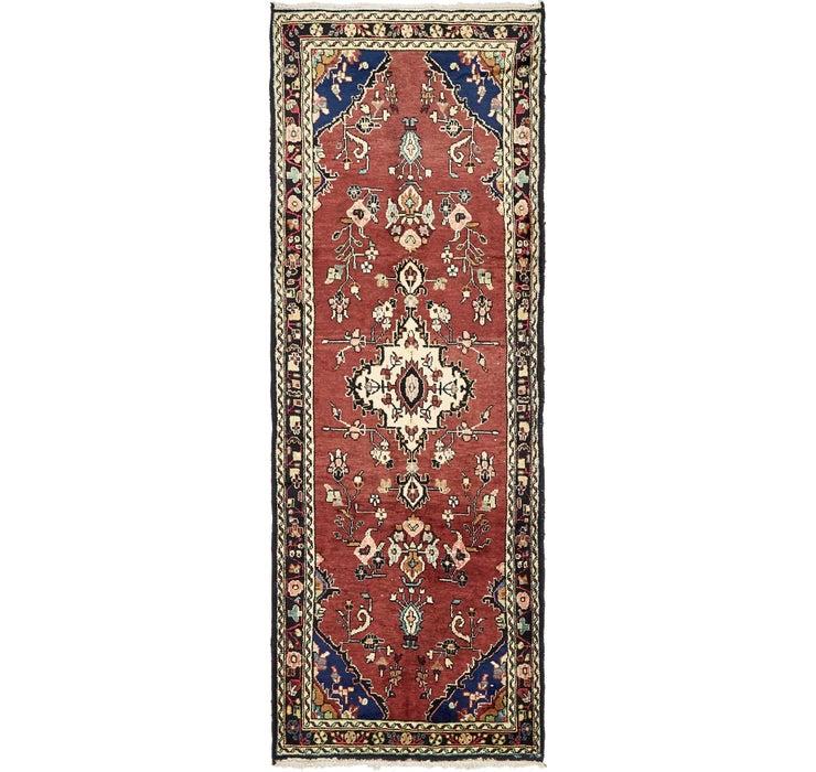 105cm x 290cm Zanjan Persian Runner Rug