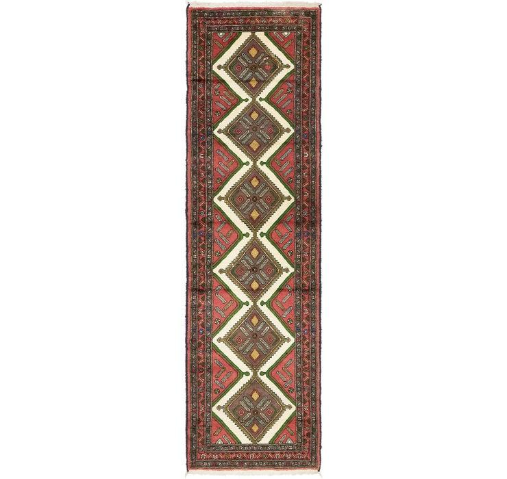 2' 11 x 10' Chenar Persian Runner Rug