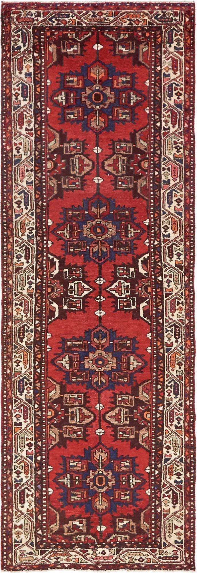 3' 4 x 9' 11 Zanjan Persian Runner Rug main image