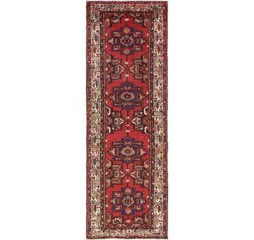 Image of 3' 4 x 9' 11 Zanjan Persian Runner Rug