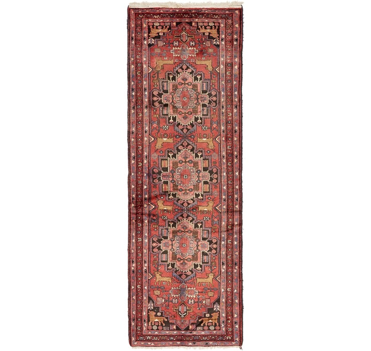 Image of 3' 5 x 9' 10 Zanjan Persian Runner Rug