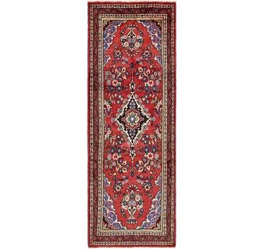 3' 8 x 9' 10 Hamedan Persian Runner Rug main image