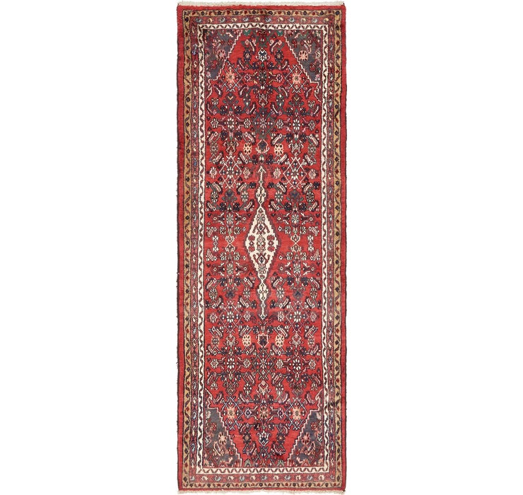 107cm x 312cm Darjazin Persian Runner...