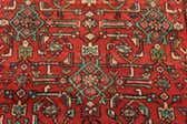 3' 10 x 10' 8 Hossainabad Persian Runner Rug thumbnail