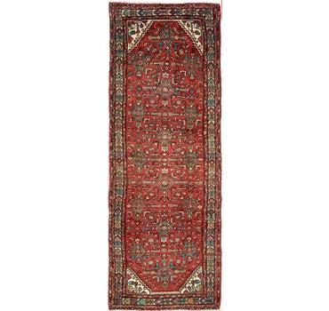3' 10 x 10' 8 Hossainabad Persian Runner Rug