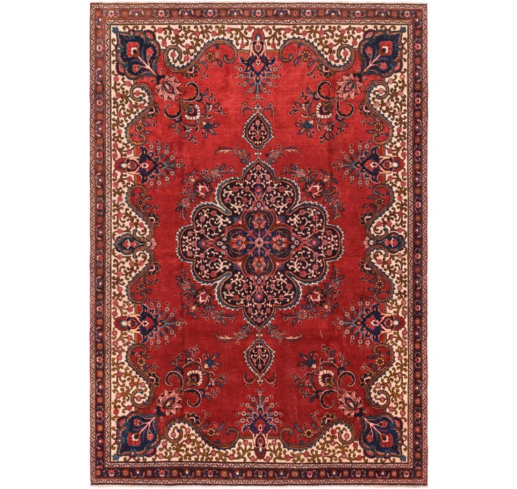 7' 7 x 10' 2 Tabriz Persian Rug