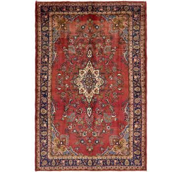 Image of 6' 9 x 10' 6 Shahrbaft Persian Rug