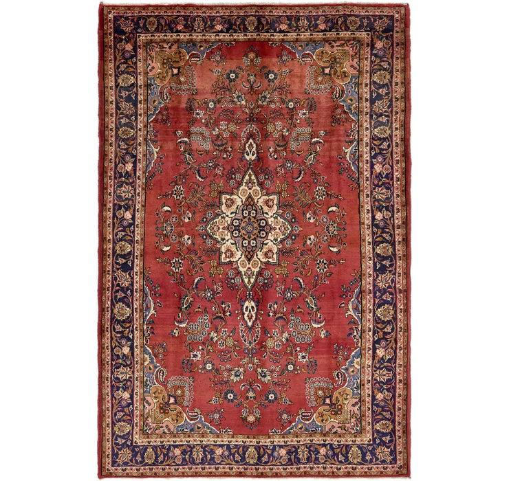 Image of 205cm x 320cm Shahrbaft Persian Rug