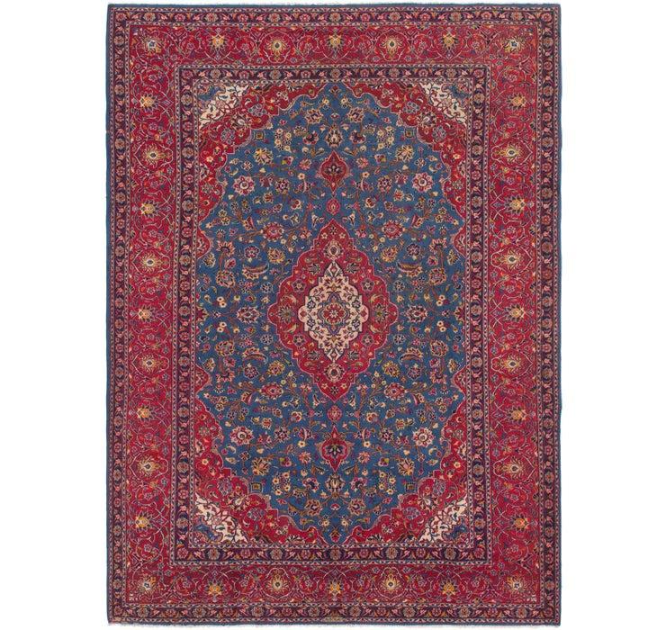 275cm x 390cm Kashan Persian Rug