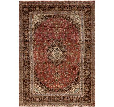 9' 8 x 13' 7 Kashan Persian Rug main image