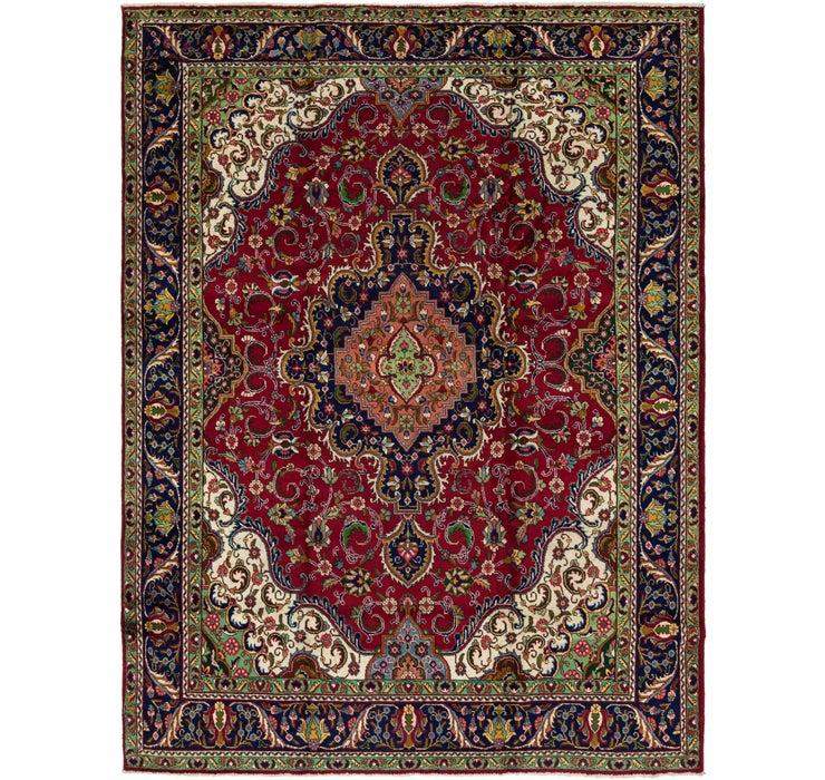 9' 7 x 12' 10 Tabriz Persian Rug