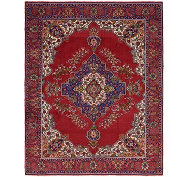 9' 7 x 12' 9 Tabriz Persian Rug main image