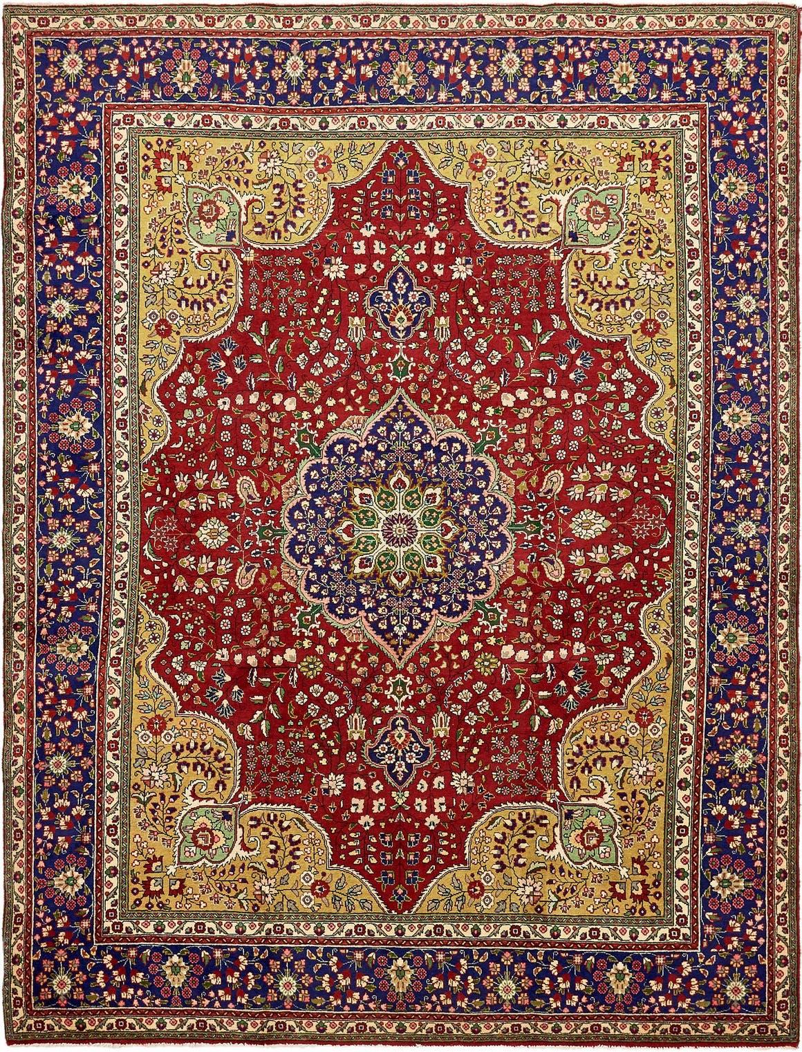 10' 2 x 13' Tabriz Persian Rug main image