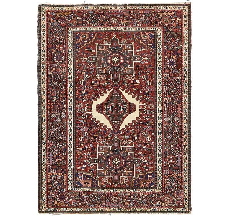 145cm x 195cm Gharajeh Persian Rug
