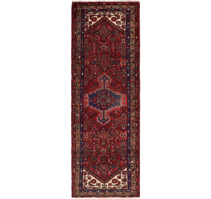 102cm x 297cm Zanjan Persian Runner Rug