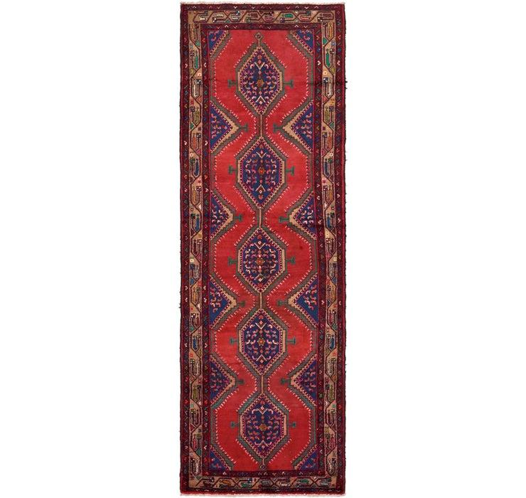110cm x 318cm Chenar Persian Runner Rug