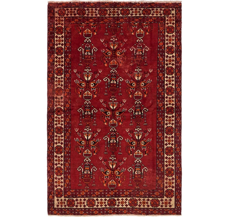4' x 6' 6 Ferdos Persian Rug