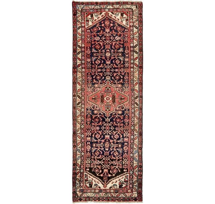 110cm x 305cm Zanjan Persian Runner Rug