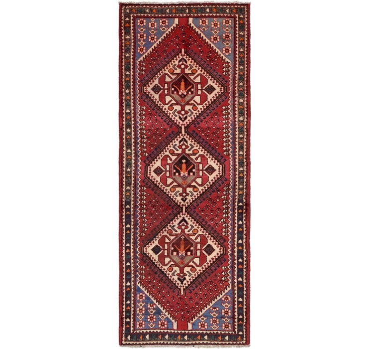 105cm x 297cm Shiraz Persian Runner Rug